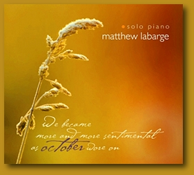 Matthew Labarge - October [Cynelic Gast Music CGM1004] 2009