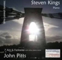 John Pitts - Intensely Pleasant Music: 7 Airs & Fantasias and other piano music [Self Released cd.tp/ipm08] 2008