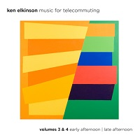 Ken Elkinson - Music For Telecommuting Volumes 3 & 4 [August Son Productions AS-65773-1] 2018