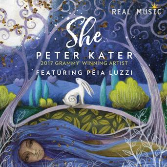 Peter Kater - She [Real Music RM4008] 2018